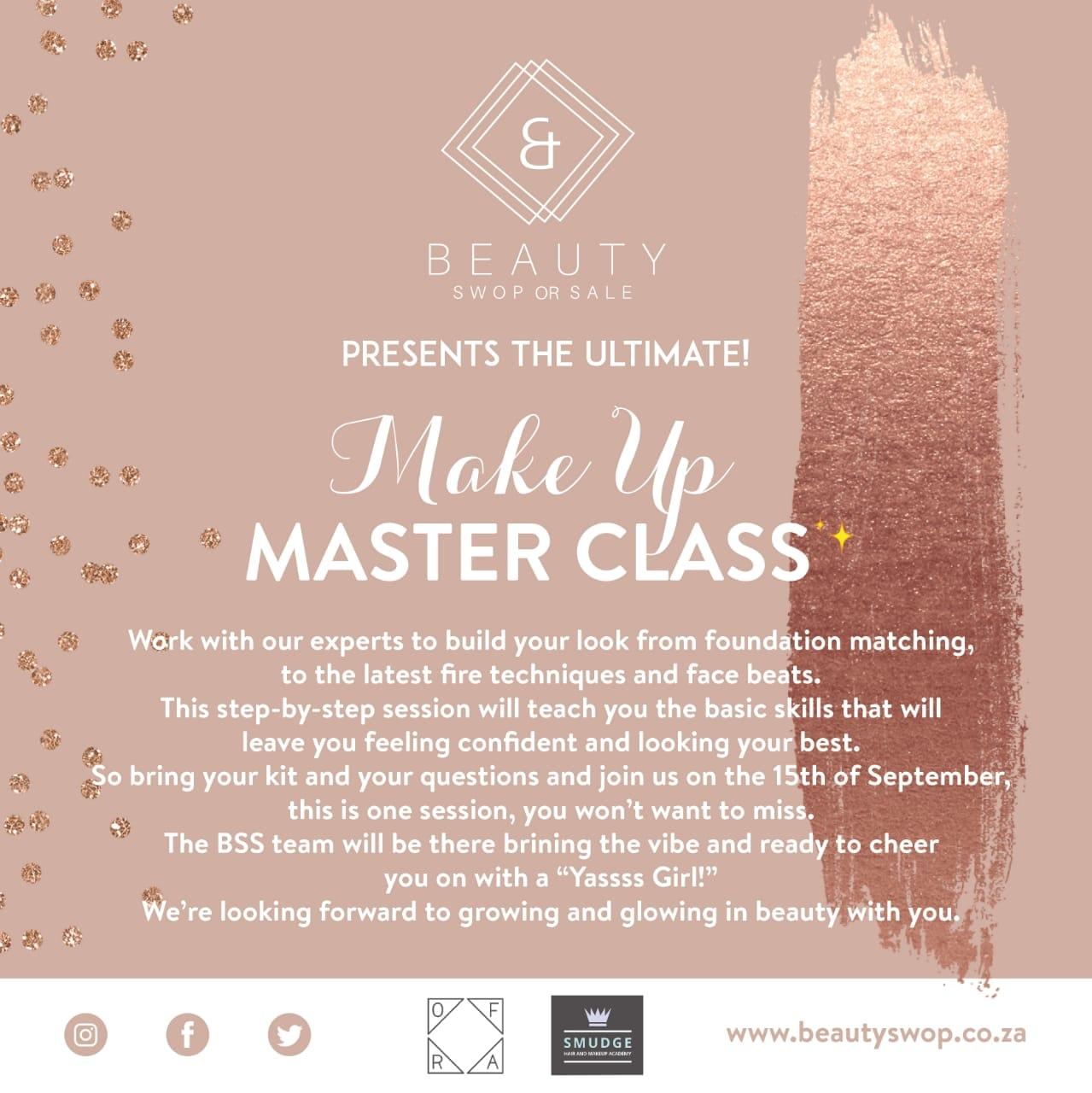 makeup masterclass bss